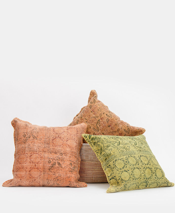 ORANGE ARTESIAN PILLOW