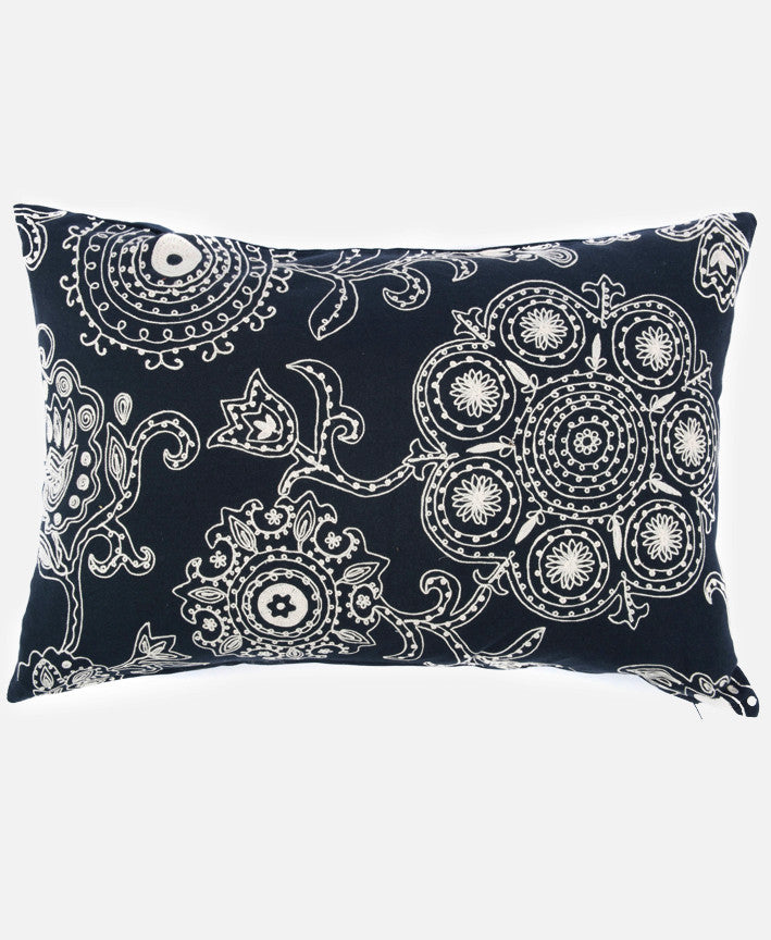 SUZANI FLORAL PILLOW