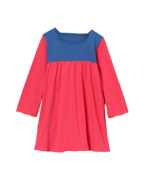 Cabaret Pink & Blue Organic Playground Dress