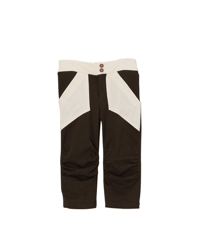 Toffee & Cream Organic Rauched Pocket Capris