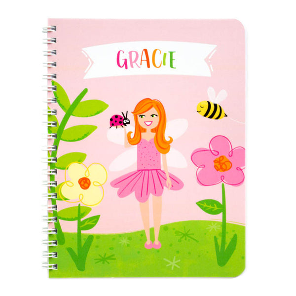 Personalized Kids Fairy Notebook