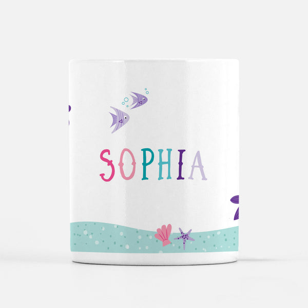 Personalized Mermaid Mug