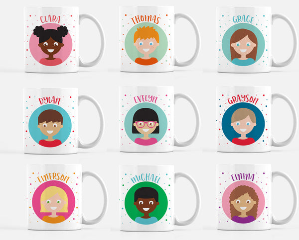 Personalized Kid's Mug for All Seasons