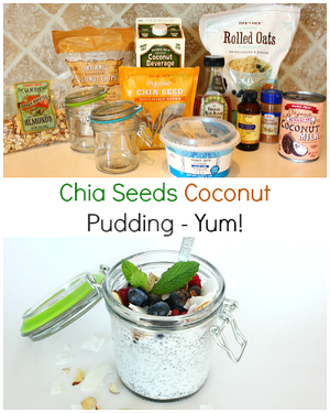 Our Coconut Chia Seeds Pudding Recipe