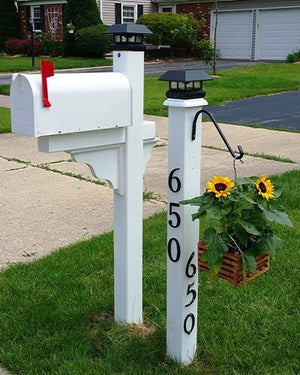 Mailbox Makeover for curb appeal