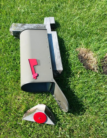 Mailbox Destruction for Makeover