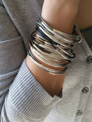"""Bedao Boutique's leather bracelets - Jewelry"""