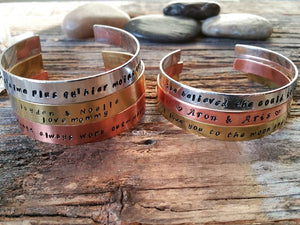 """Bedao Boutique's personalized bracelets - Personalized Jewelry"""