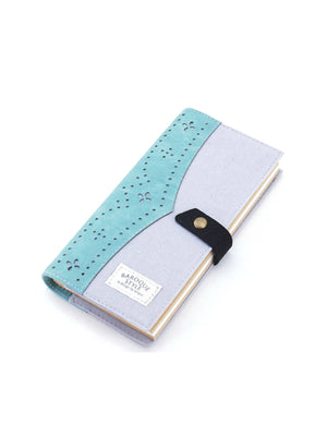 Gray and Blue Linen fabric journal, Gray and Blue Journals and Notebooks