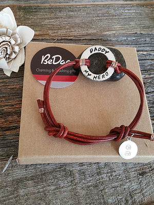 """Bedao Boutique's dad hero bracelet - Personalized Jewelry"""