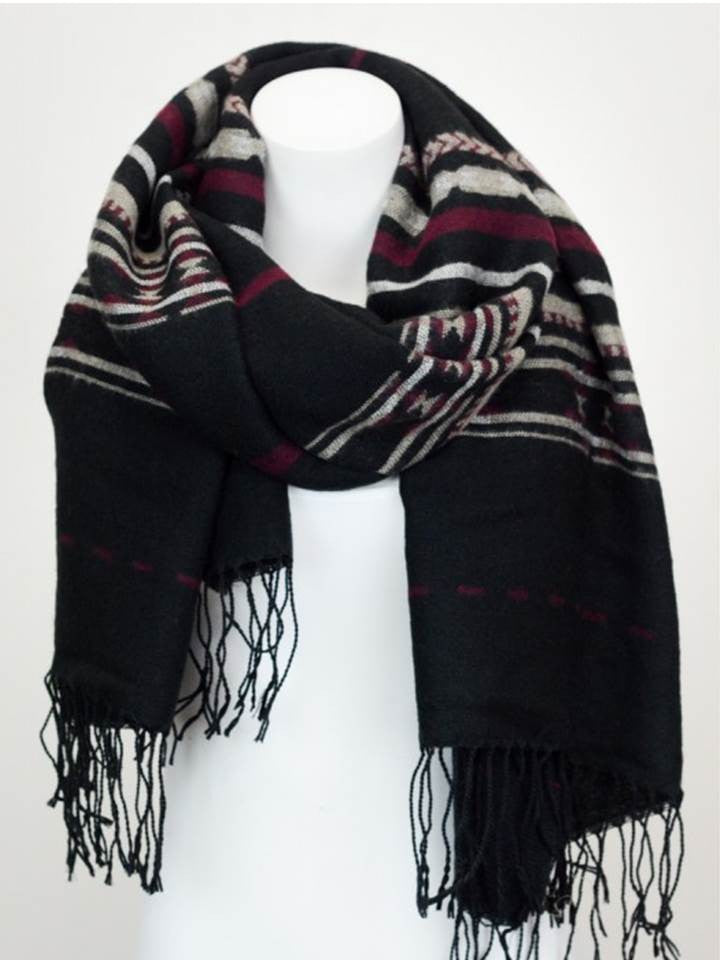 Blanket Scarves, Blanket Scarf, Oversized Scarf, Plaid Scarves, Trendy Scarves - Bedao Boutique
