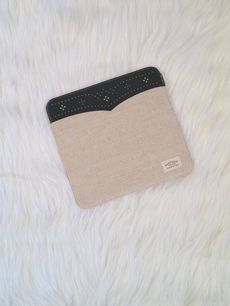 Beige mouse Pad with lace, Office Mouse Pads, Office Gifts, Co-worker Gifts