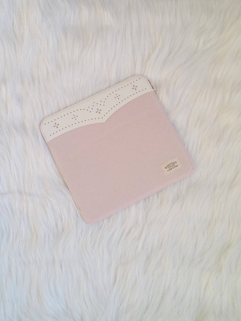 Pink mouse Pad with lace, Office Mouse Pads, Office Gifts, Co-worker Gifts