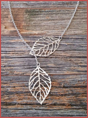"""Bedao Boutique's leaves necklace - Jewelry"""