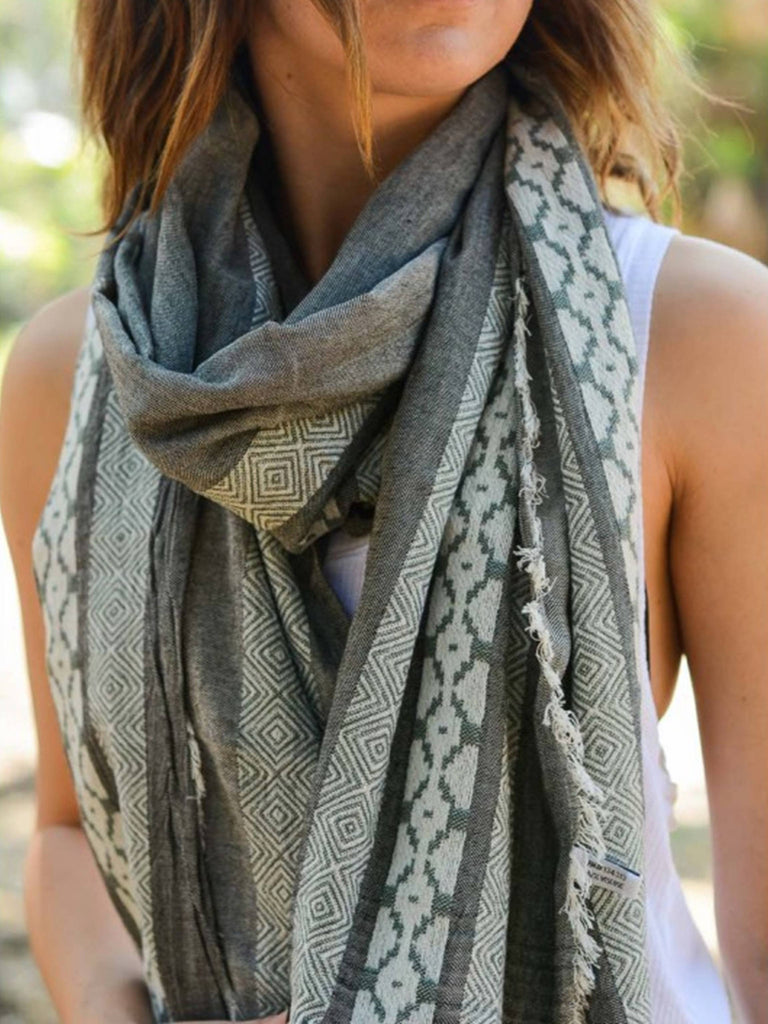 Summer Scarves, Spring Scarves, Boho Scarves, Trendy Scarves, Light Scarves - Bedao Boutique