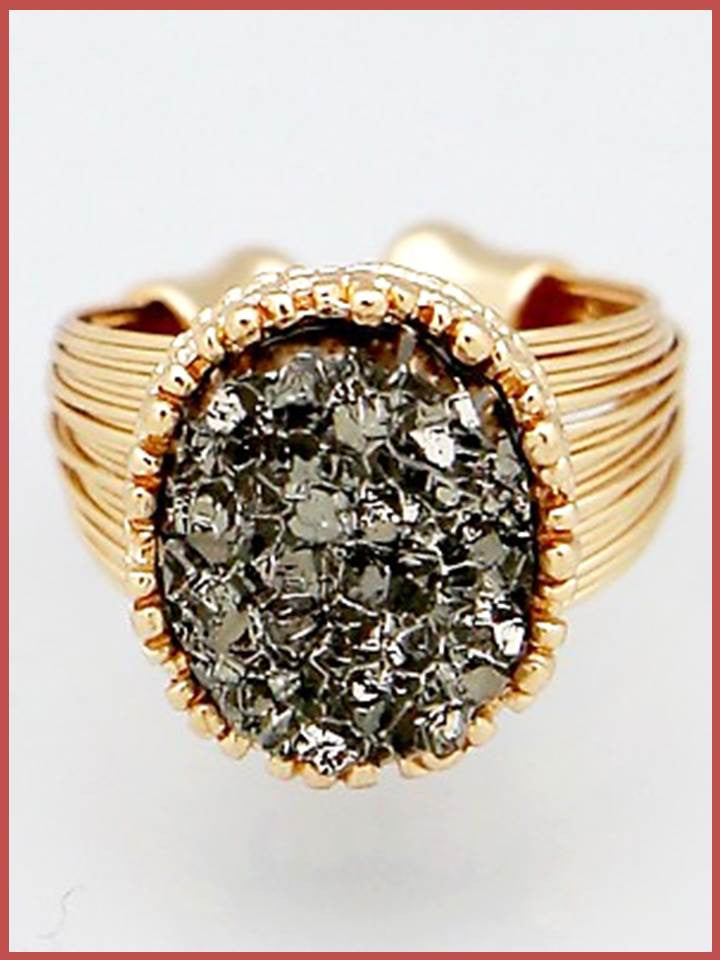 """Bedao Boutique's druzy ring - Jewelry"""