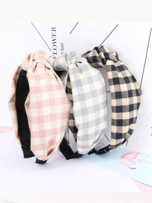Women Plaid Heabands, Plaid Baby Headwraps, Plaid Headwrap, Plaid Bandanas, Plaid Twist, Plaid Turban, Plaid Hair accessories, Plaid Day, Family Photos Outfits