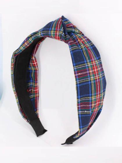Retro Chic Plaid Heabands - Bedao Boutique ce8a04905e5