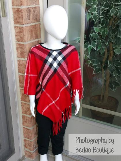 Ponchos, Girls Ponchos, Baby Ponchos, Trendy Ponchos, Plaid Ponchos, Cute Girls Ponchos - Bedao Boutique