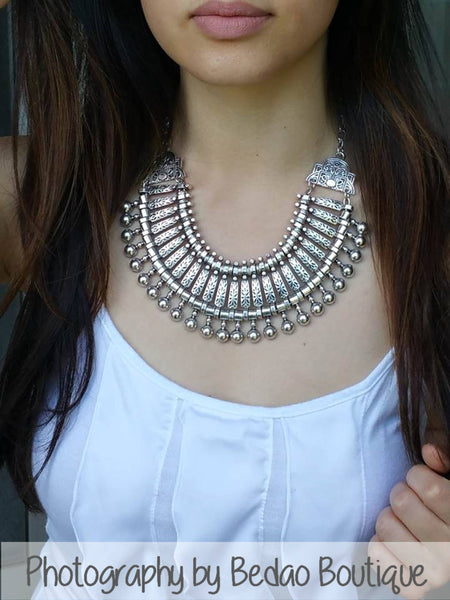 Ethnic Statement Necklace