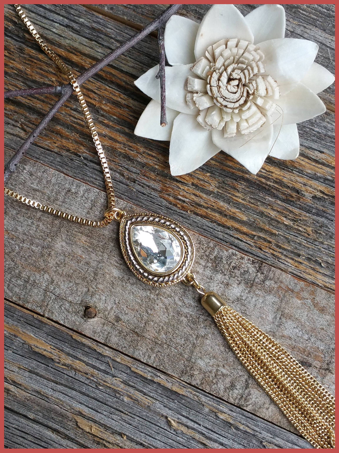 """Bedao Boutique's tassel necklace - Jewelry"""
