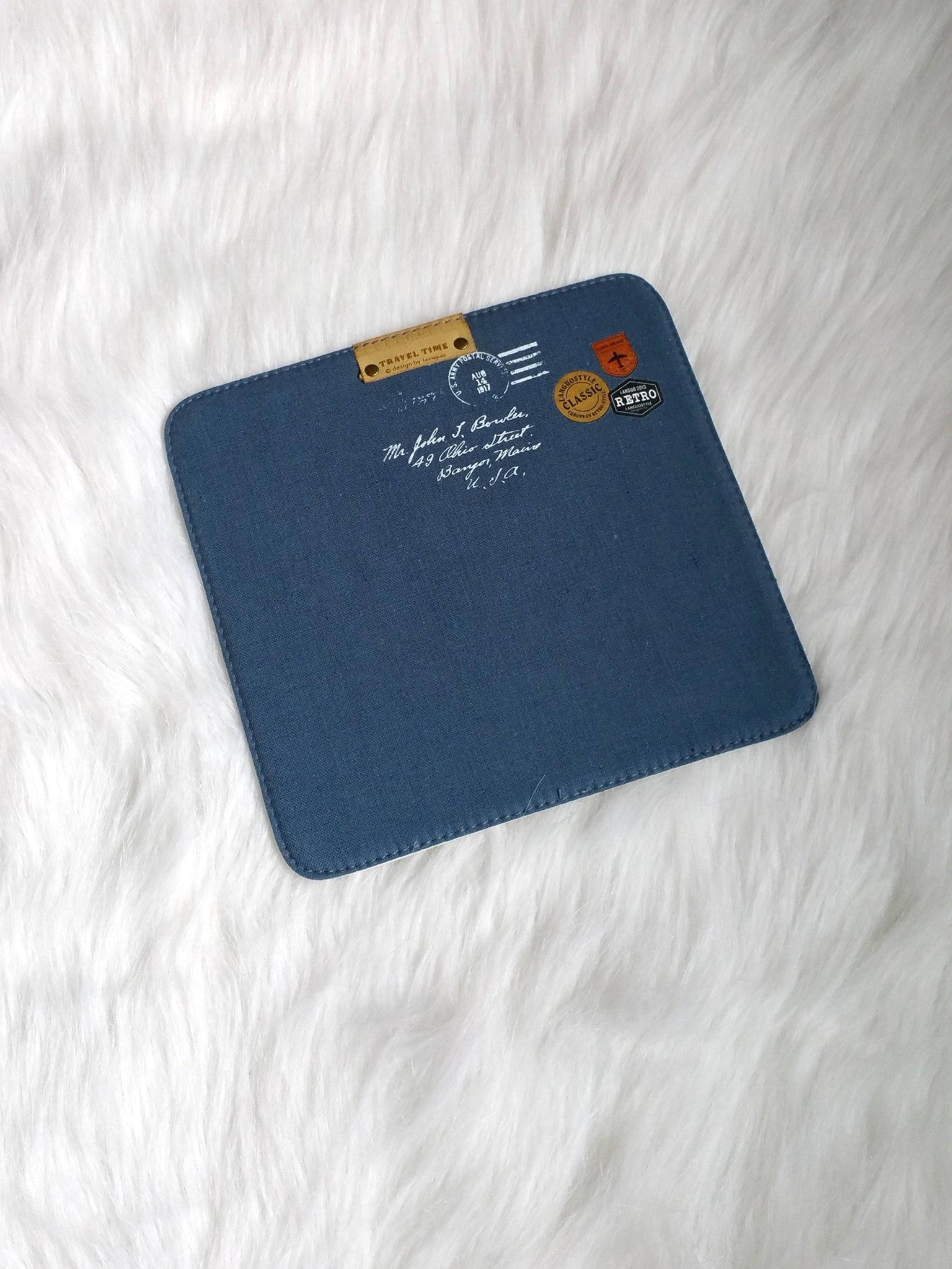 Blue Mouse Pads, Office Mouse Pads, Office Gifts, Co-worker Gifts