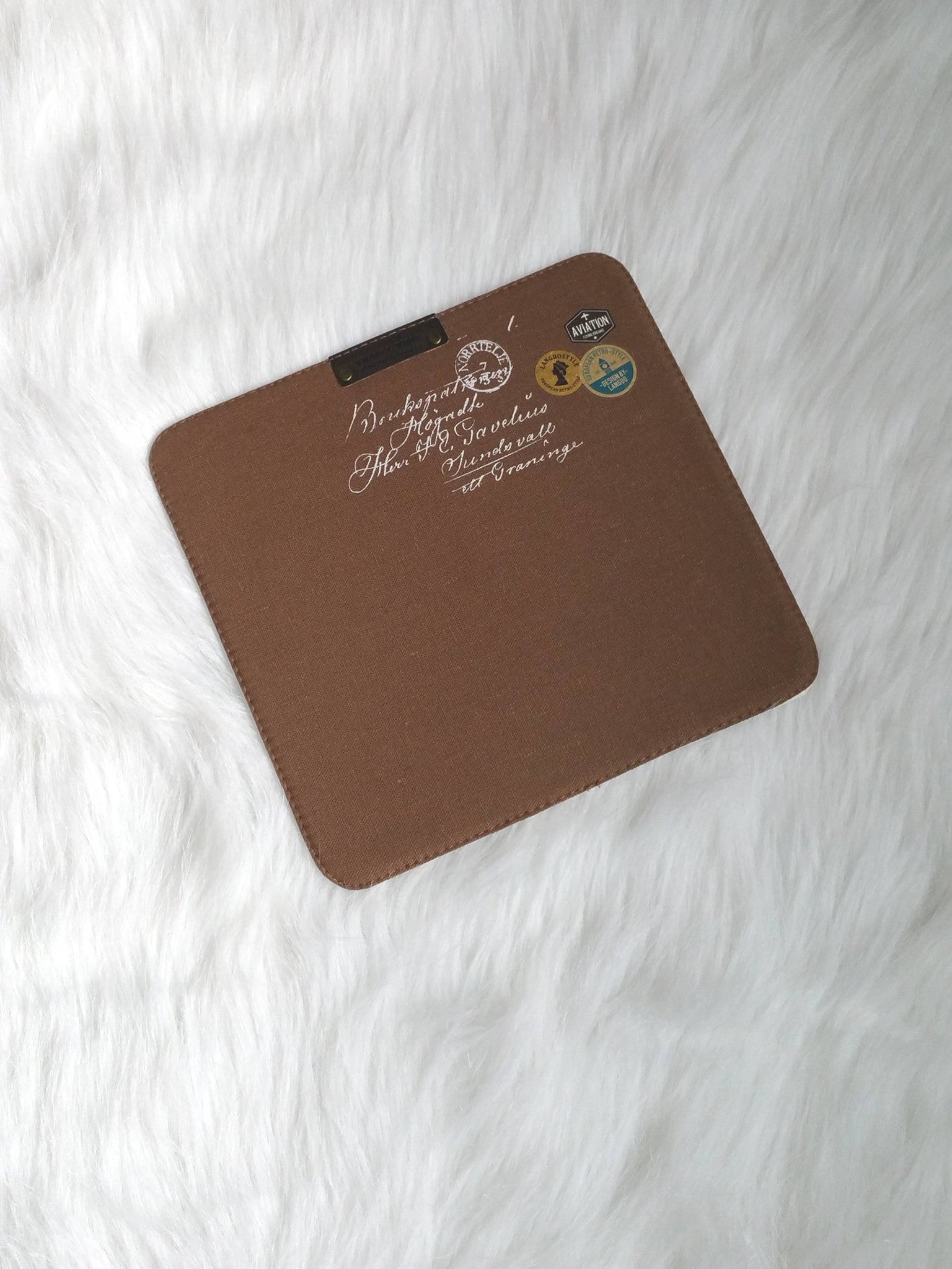 Brown Mouse Pads, Office Mouse Pads, Office Gifts, Co-worker Gifts