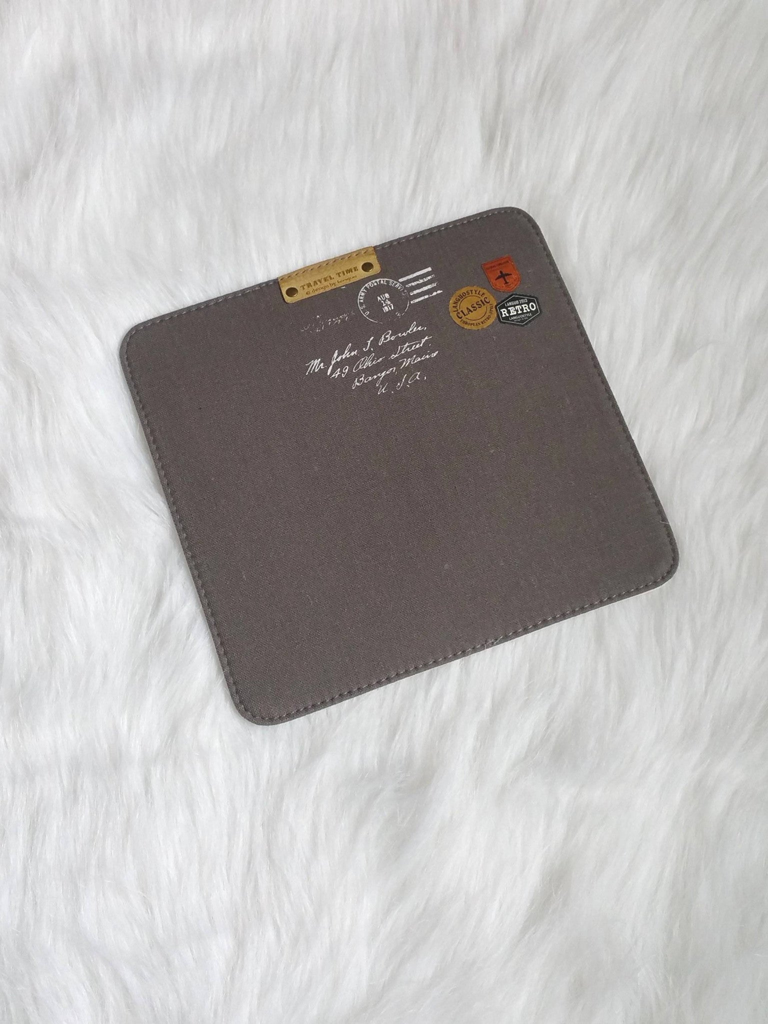 Gray Mouse Pads, Office Mouse Pads, Office Gifts, Co-worker Gifts