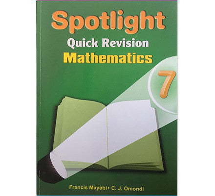 Spotlight Maths 7