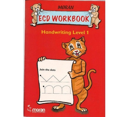 ECD Workbook handwriting Level1