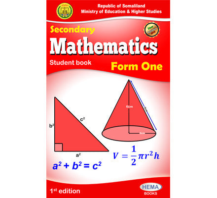 Maths Form 1
