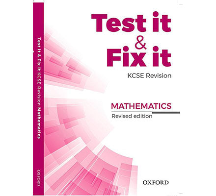Test it & Fix it Rev Math