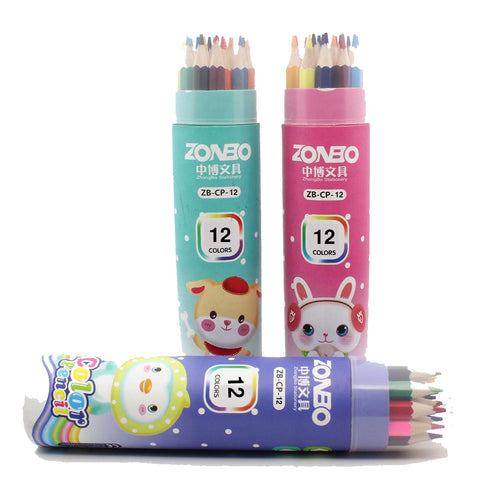 Colour pencils ZB-CP 12pcs