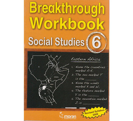 Breakthrough Workbook Social studies 6
