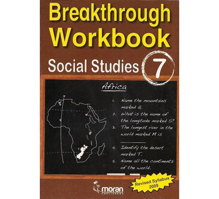Breakthrough Workbook Social studies  7