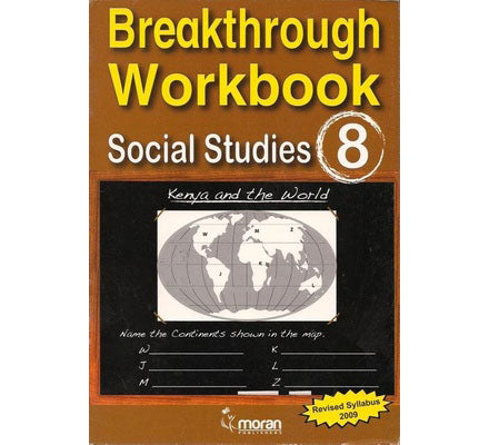 Breakthrough Workbook Social studies 8