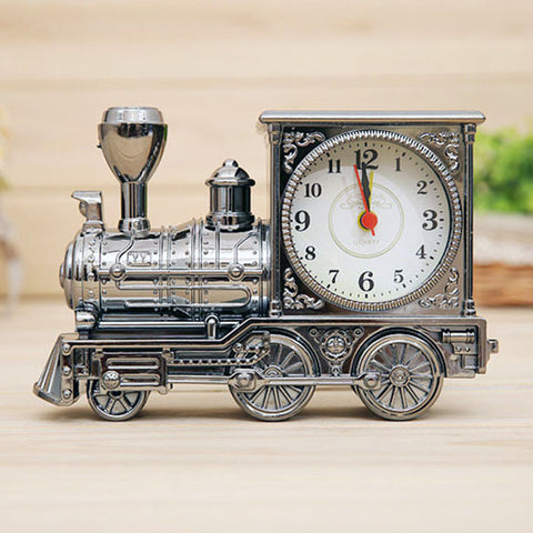 Retro Train Clock