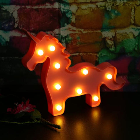 Unicorn LED Night Lamp