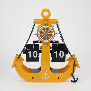 Anchor Flip Clock