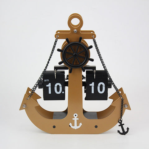 Image of Anchor Flip Clock