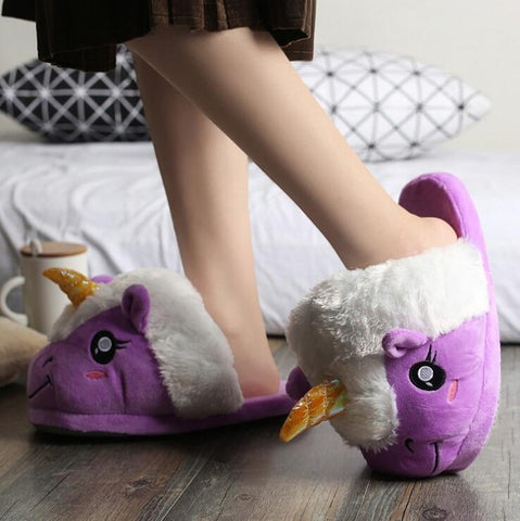 Image of Unicorn Slippers