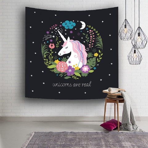 Image of Unicorn Tapestry