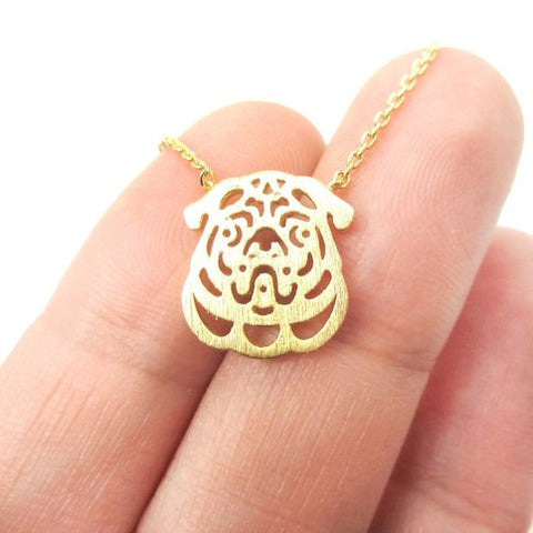 Image of Pug necklace