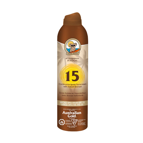 Continuous Spray with Bronzer - SPF 30