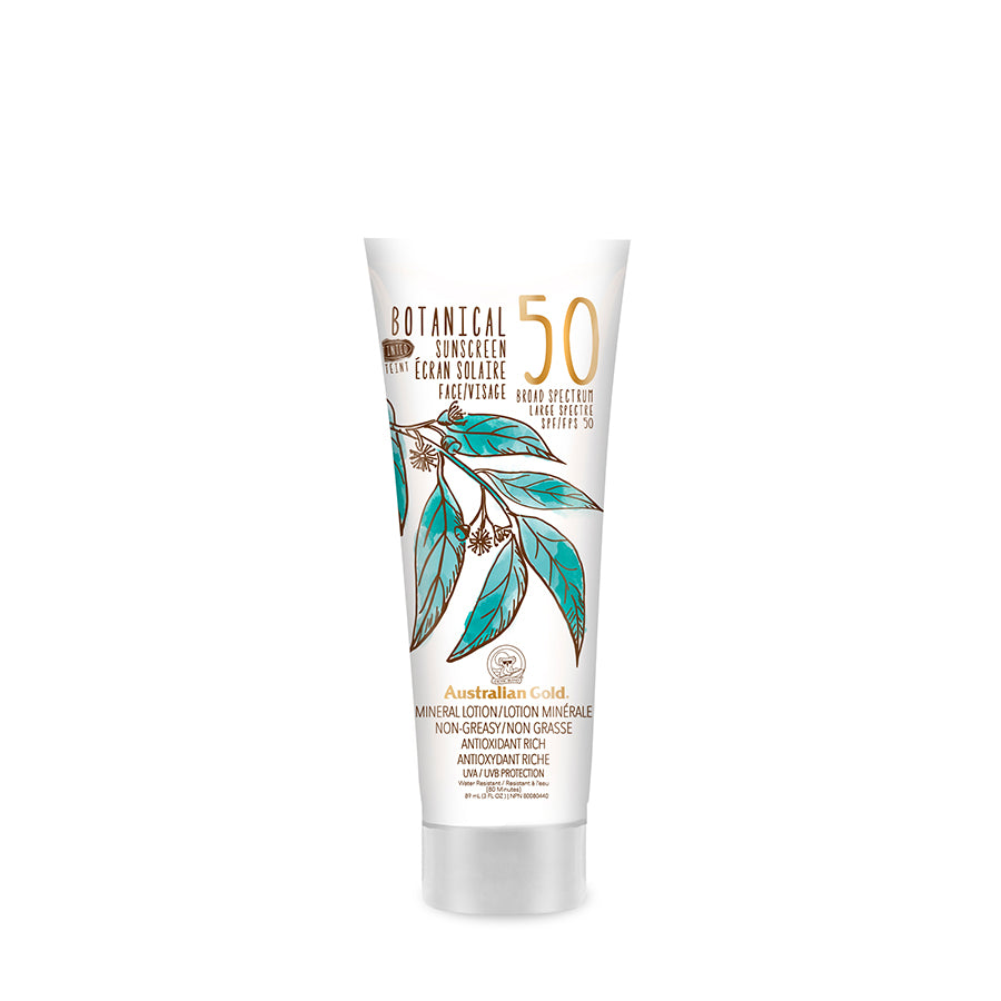 BOTANICAL SPF 50 TINTED FACE