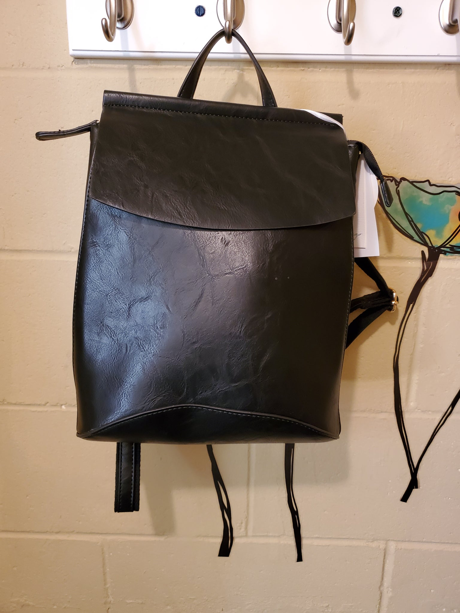 Backpack/crossbody convertable bags