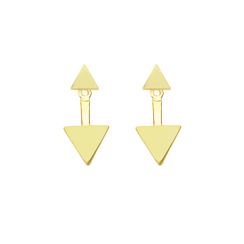 Minx Earrings in Gold