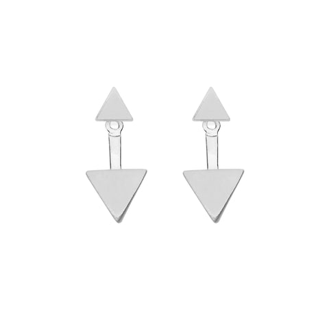 Minx Earrings in Silver