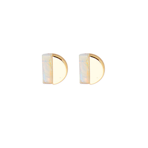 Lulu Earrings in Gold
