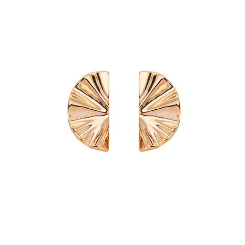 Aria Earrings in Rose Gold